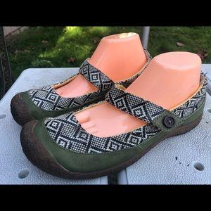 Keen Women's Back/Gray Mary Jane Slip On Sandals